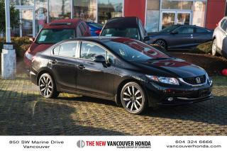 Used 2013 Honda Civic Sedan Touring 5AT for sale in Vancouver, BC