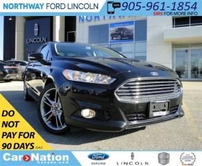 Used 2014 Ford Fusion Titanium | NAV | REAR CAM | LEATHER | SUNROOF | for sale in Brantford, ON