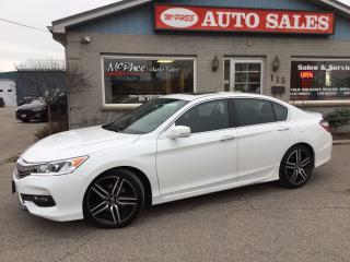 Used 2016 Honda Accord Sport for sale in London, ON