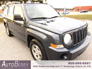 Used 2008 Jeep Patriot Sport - 2.0L - FWD for sale in Woodbridge, ON