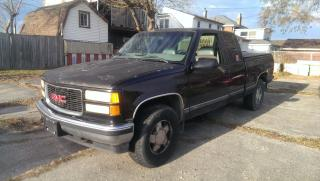 Used 1999 GMC Sierra 1500 SLE for sale in Cambridge, ON