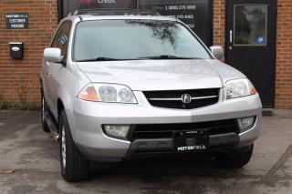 Used 2003 Acura MDX Touring *EXCELLENT SHAPE, CERTIFIED* for sale in Scarborough, ON