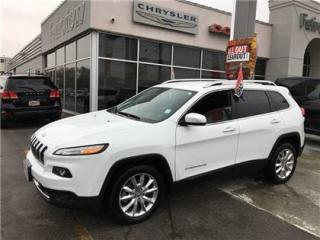 Used 2017 Jeep Cherokee Limited..Navi/Leather Seats for sale in Burlington, ON