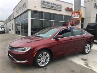 Used 2015 Chrysler 200 Limited for sale in Burlington, ON