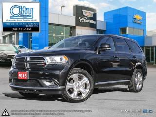 Used 2015 Dodge Durango Limited for sale in North York, ON