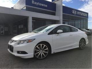 Used 2013 Honda Civic Coupe SI 6MT Super low km one owner SI! for sale in Barrie, ON