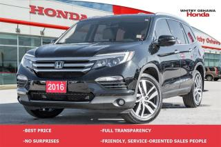 Used 2016 Honda Pilot Touring | Leather Sunroof Navigation AWD | Automat for sale in Whitby, ON