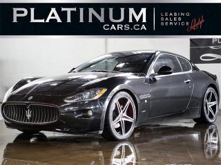 Used 2008 Maserati Gran Turismo 4.2 V8 405HP, NAVI, PADDLE SHIFT, LEATHER for sale in North York, ON
