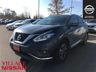 Used 2015 Nissan Murano SL - Leather|AroundView|Blind for sale in Unionville, ON