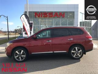 Used 2014 Nissan Pathfinder Platinum - Navi|Rear View Cam| for sale in Unionville, ON