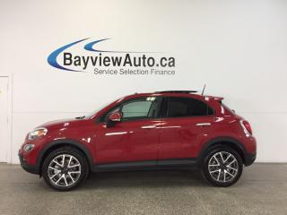 Used 2017 Fiat 500X TREKKING- AWD|REM STRT|PANOROOF|BLUETOOTH|CRUISE! for sale in Belleville, ON