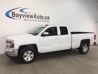 Used 2017 Chevrolet Silverado 1500 LT- 5.3L|DBL CAB|REV CAM|BLUETOOTH|ON STAR! for sale in Belleville, ON