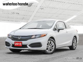 Used 2015 Honda Civic LX Bluetooth, Back Up Camera, Heated Seats and more! for sale in Waterloo, ON