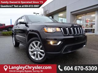 Used 2017 Jeep Grand Cherokee Limited *ACCIDENT FREE*DEALER INSPECTED* for sale in Surrey, BC