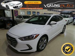 Used 2017 Hyundai Elantra GLS| SUNROOF| R/CAMERA| BLUETOOTH for sale in Woodbridge, ON