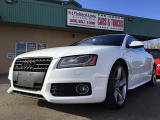 Used 2012 Audi A5 2.0T Premium $178.98 BI WEEKLY! $0 DOWN! S-LINE! ALL WHEEL DRIVE! 6 SPEED MANUAL! TURBO! for sale in Bolton, ON