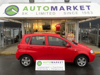 Used 2008 Chevrolet Aveo5 LS AUTO FINANCING FOR ANYBODY! for sale in Langley, BC