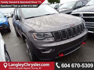 New 2018 Jeep Grand Cherokee TRAILHAWK 4x4 for sale in Surrey, BC
