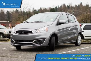 Used 2017 Mitsubishi Mirage ES 5-Door, 3cyl, Air Conditioning for sale in Port Coquitlam, BC