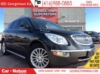 Used 2012 Buick Enclave CXL | AWD | CLEAN CARPROOF | 7 PASS | SIDE BOARDS for sale in Georgetown, ON