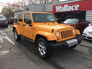 Used 2013 Jeep Wrangler Unlimited Sahara 4WD for sale in Ottawa, ON
