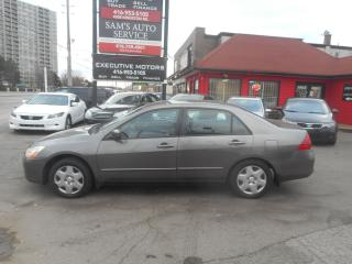 Used 2007 Honda Accord EX for sale in Scarborough, ON