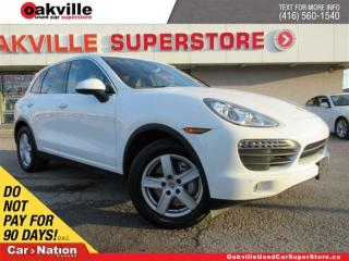 Used 2012 Porsche Cayenne S (Tiptronic) | LEATHER | NAVI | SUNROOF | B/U CAM for sale in Oakville, ON