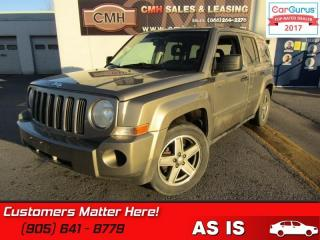 Used 2008 Jeep Patriot Sport  AS IS - UNCERTIFIED *AS TRADED IN* for sale in St Catharines, ON