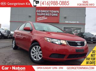 Used 2013 Kia Forte BLUETOOTH| POWER GROUP| FULLY SERVICED for sale in Georgetown, ON