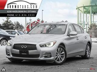Used 2014 Infiniti Q50 Premium AWD for sale in Stittsville, ON
