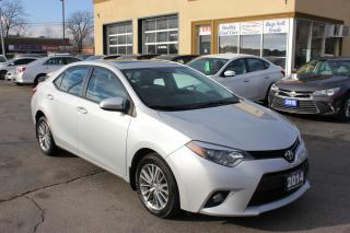 Used 2014 Toyota Corolla LE Sunroof Alloy Heated Seats for sale in Brampton, ON