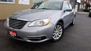 Used 2014 Chrysler 200 Touring-HEATED SEATS-REMOTE START-ALLOY WHEELS for sale in Tilbury, ON