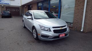 Used 2015 Chevrolet Cruze 1LT/BLUETOOTH/BACKUP CAMERA/IMMACULATE $ 12500 for sale in Brampton, ON