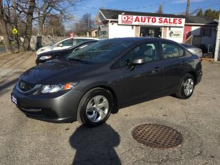 Used 2013 Honda Civic Automatic/1Owner/Accident Free/Bluetooth/Certified for sale in Scarborough, ON