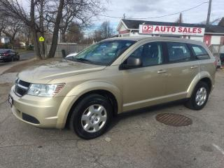 Used 2010 Dodge Journey Automatic/4 Cylinder Gas Saver/Certified for sale in Scarborough, ON