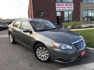 Used 2012 Chrysler 200 LX for sale in Etobicoke, ON