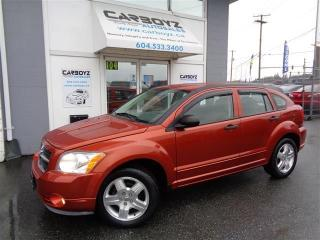 Used 2007 Dodge Caliber SXT Hatchback, 5 Speed Manual, NO Accidents!! for sale in Langley, BC