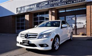 Used 2008 Mercedes-Benz C 300 3.0L 4MATIC NO ACCIDENT LEATHER SUNROOF BLUETOOTH for sale in Mississauga, ON