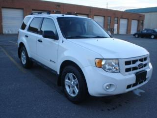 Used 2010 Ford Escape HYBRID,4WD,GAS SAVER for sale in Mississauga, ON