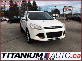 Used 2014 Ford Escape SE+4WD+Camera+GPS+Heated Leather+Remote Start+SYNC for sale in London, ON
