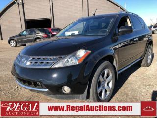 Used 2006 Nissan Murano SE for sale in Calgary, AB