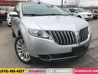 Used 2014 Lincoln MKX | NAV | ROOF | LEATHER | AWD | CAM for sale in London, ON