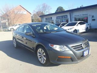 Used 2012 Volkswagen Passat CC SPORTLINE MANUAL for sale in Waterdown, ON
