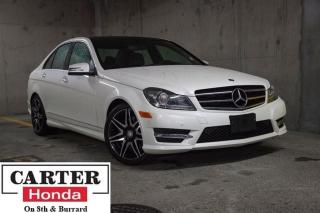 Used 2014 Mercedes-Benz C-Class C350 4MATIC + AMG! + SUEDE + NAVI + NO ACCIDENTS! for sale in Vancouver, BC