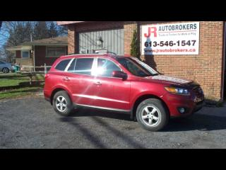 Used 2011 Hyundai Santa Fe AWD Heated Seats & Sunroof for sale in Elginburg, ON