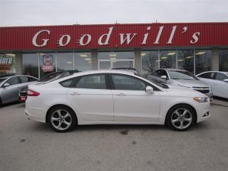 Used 2015 Ford Fusion SE! NAVIGATION! BLUETOOTH! REMOTE START! for sale in Aylmer, ON