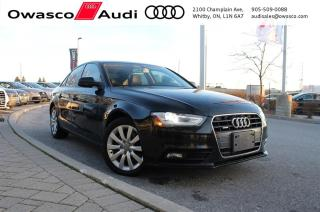 Used 2014 Audi A4 6-Speed quattro Komfort w/ Xenon Plus Headlights for sale in Whitby, ON