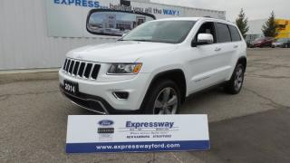 Used 2014 Jeep Grand Cherokee Limited for sale in Stratford, ON