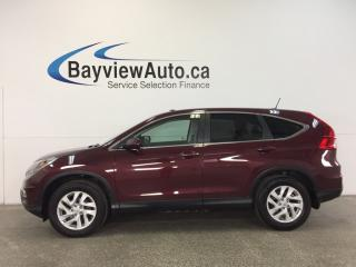 Used 2015 Honda CR-V EX- AWD|SUNROOF|HTD LTHR|REV CAM|HONDA LINK! for sale in Belleville, ON
