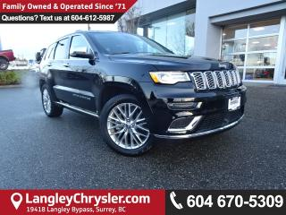 Used 2017 Jeep Grand Cherokee Summit *ACCIDENT FREE * LOCAL BC SUV * for sale in Surrey, BC